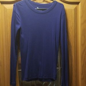 Long sleeve cotton gap shirt